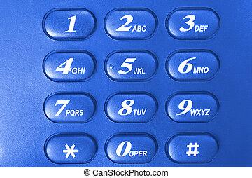 電話, キーパッド