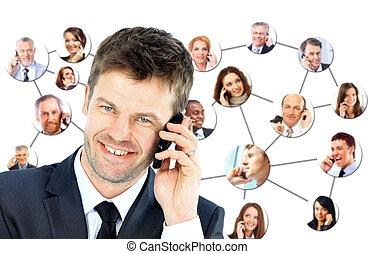 電話, 人々の話すこと, グループ