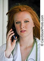 電話, 医者