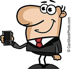 電話, 商人