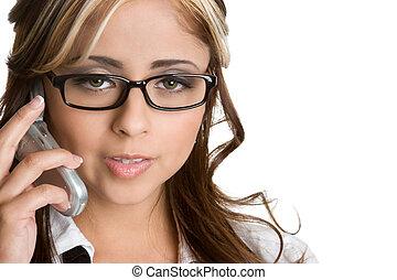 電話, 女