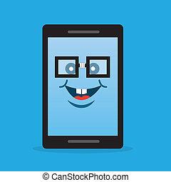 電話, 特徴, nerd, ガラス