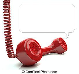 電話, 紅色