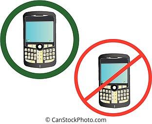 電話, 細胞, 使用法