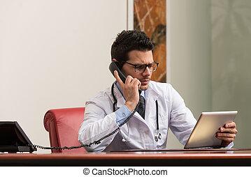 電話, 若い医者