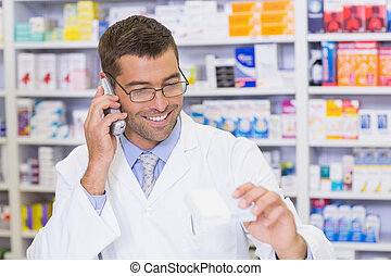 電話, 薬剤師, 幸せ