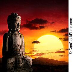 霊歌, af, 背景, アジア人
