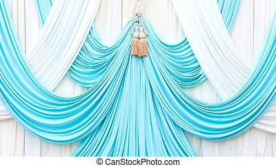青いびら門, 白, ステージ
