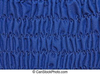 青いドレス, ひだを取られた, texture.