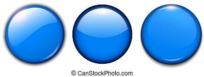 青いボタン, セット