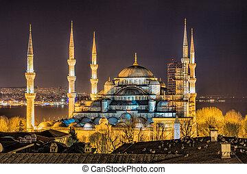 青いモスク, イスタンブール