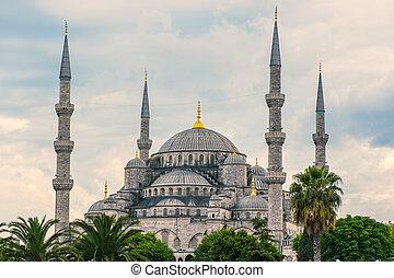 青いモスク
