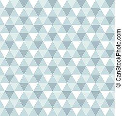 青いライト, 三角形, seamless, 手ざわり