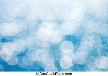 青いライト, 背景