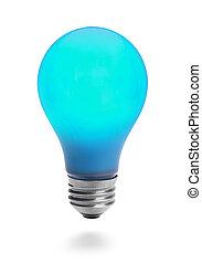 青いライト, 電球