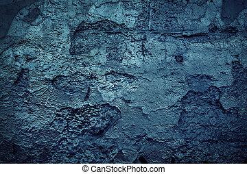 青い壁, グランジ