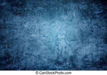 青い壁, 背景