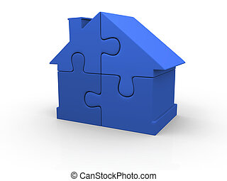 青い家, 困惑