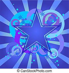 青い星, デザイン