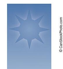 青い星, 背景