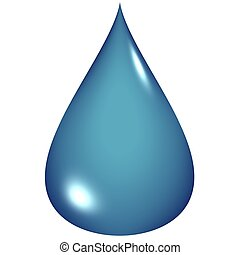 青い水, 低下