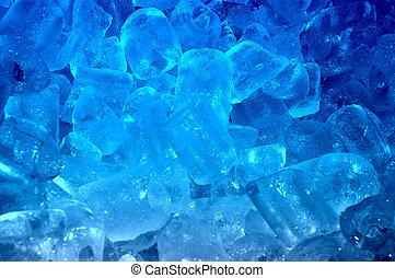 青い氷, 背景