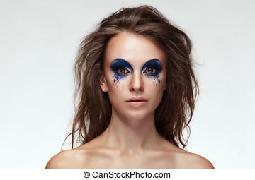 青い目, 女, 構成しなさい, ファンタジー