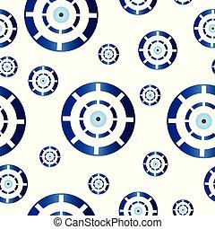 青い目, seamless, 手ざわり, ギリシャ語, 悪, tileable