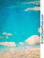 青い空, clouds.