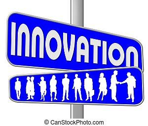 青い符号, 道, 革新
