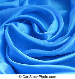 青い絹, 滑らかである, 背景