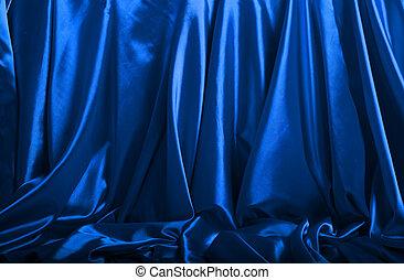 青い絹, 背景