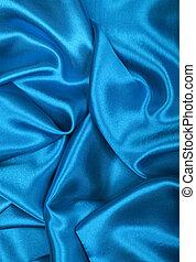 青い絹, 背景, 滑らかである, 優雅である