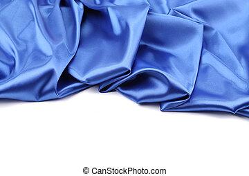 青い絹, drapery.