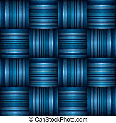 青い縞, はたを織りなさい