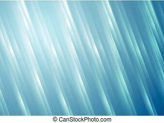 青い縞, ぼんやりさせられた, ベクトル, 背景, 光沢がある