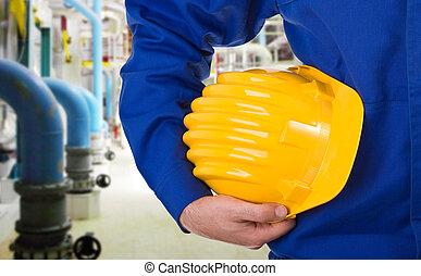 青い衿, worker.