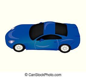 青い車, スポーツ