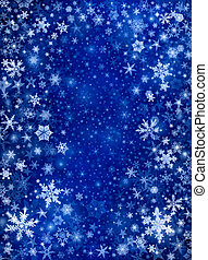 青い雪, 嵐