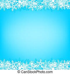 青い雪, 背景