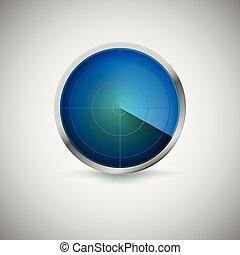 青スクリーン, 放射状, color.
