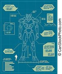 青写真, ロボット, 巨人