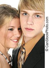 青少年夫妇