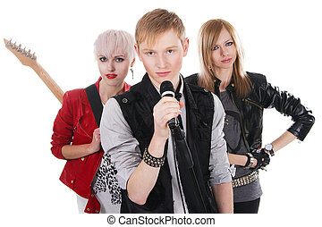 青少年, 搖滾樂隊