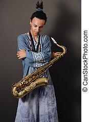 青少年, saxo, 表演者