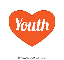 青年, 概念, 図形記号, デザイン