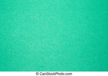 青緑のバックグラウンド, の, 有色人種, cardboard.