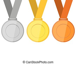 青銅, 銀, 獎章, 金
