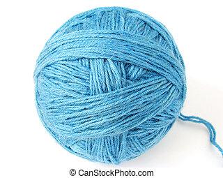 青, かせ, 羊毛