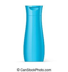 青, びん, プロダクト, 美しさ, プラスチック